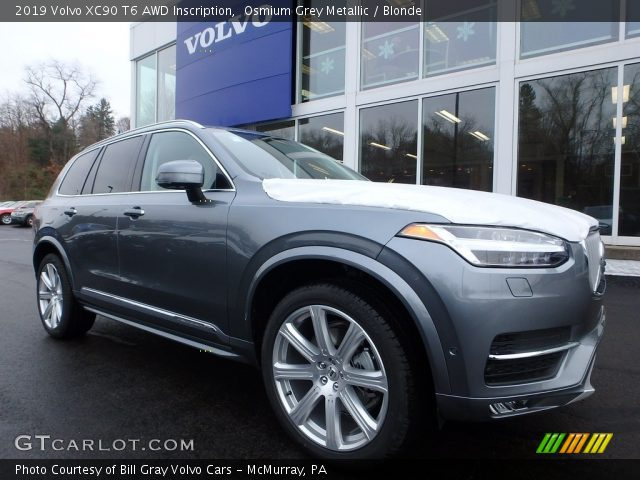 2019 Volvo XC90 T6 AWD Inscription in Osmium Grey Metallic