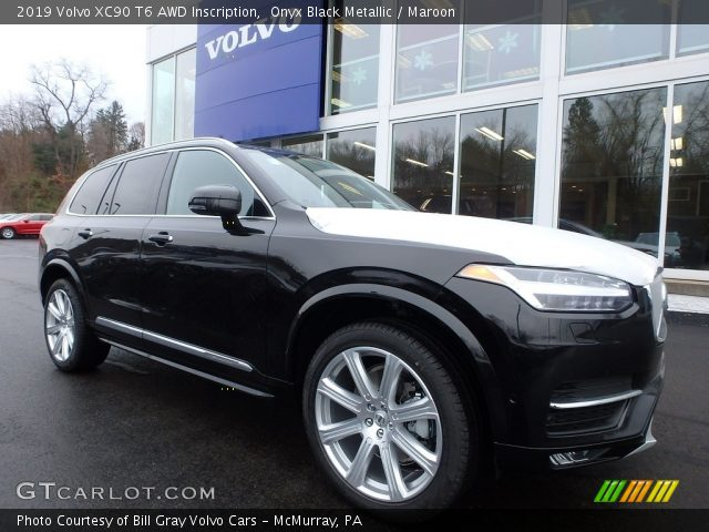 2019 Volvo XC90 T6 AWD Inscription in Onyx Black Metallic