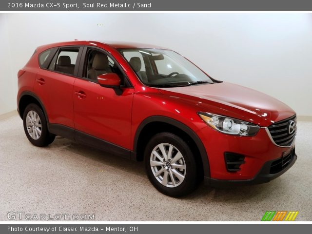 2016 Mazda CX-5 Sport in Soul Red Metallic