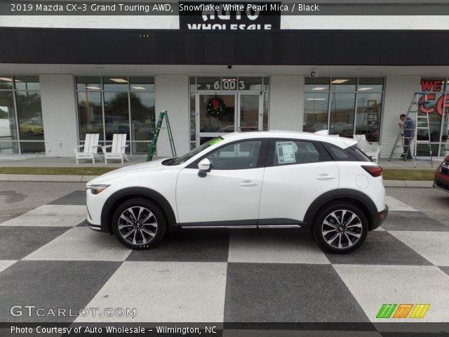 2019 Mazda CX-3 Grand Touring AWD in Snowflake White Pearl Mica
