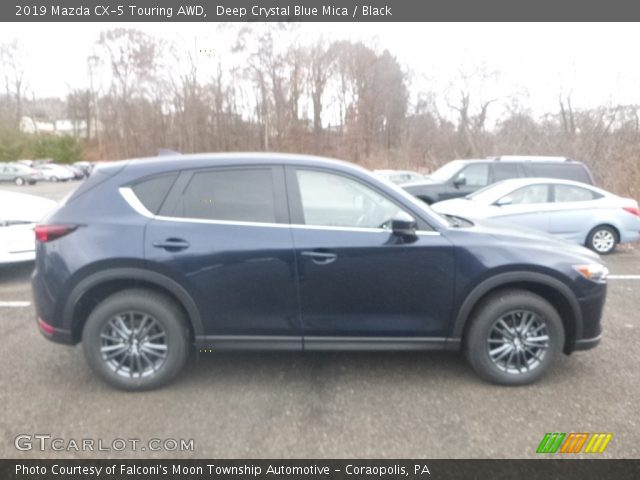 2019 Mazda CX-5 Touring AWD in Deep Crystal Blue Mica