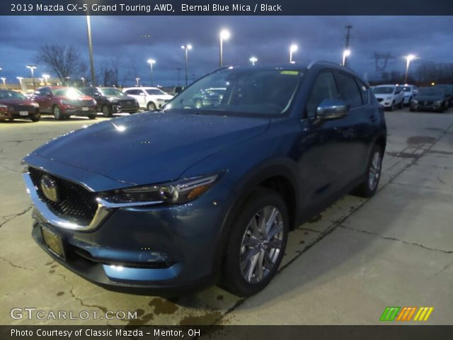2019 Mazda CX-5 Grand Touring AWD in Eternal Blue Mica