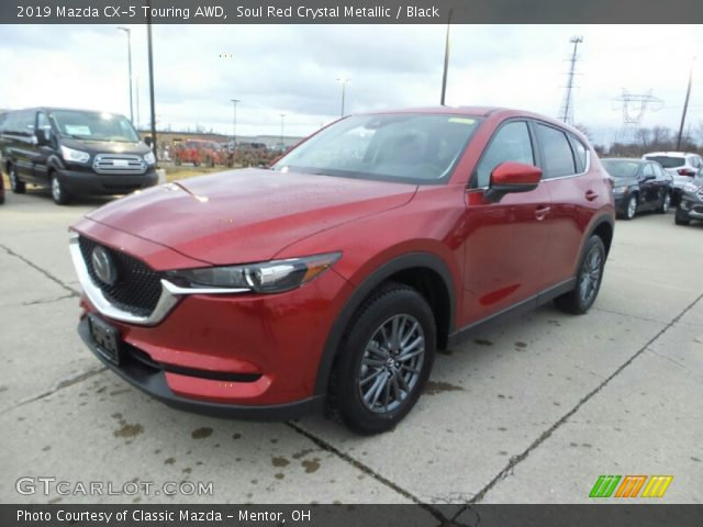 2019 Mazda CX-5 Touring AWD in Soul Red Crystal Metallic