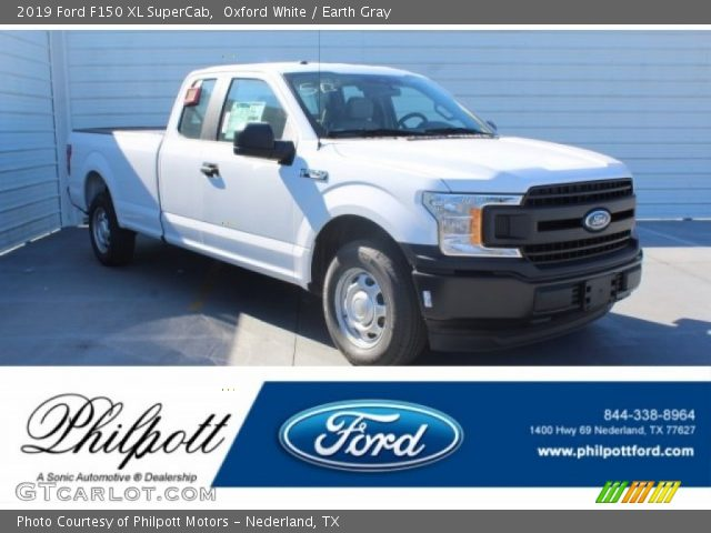 2019 Ford F150 XL SuperCab in Oxford White