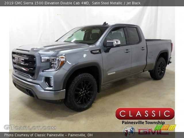 2019 GMC Sierra 1500 Elevation Double Cab 4WD in Satin Steel Metallic