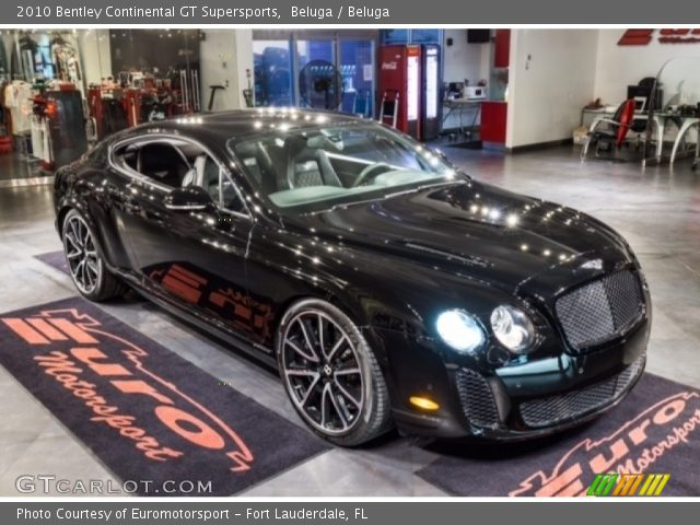 2010 Bentley Continental GT Supersports in Beluga