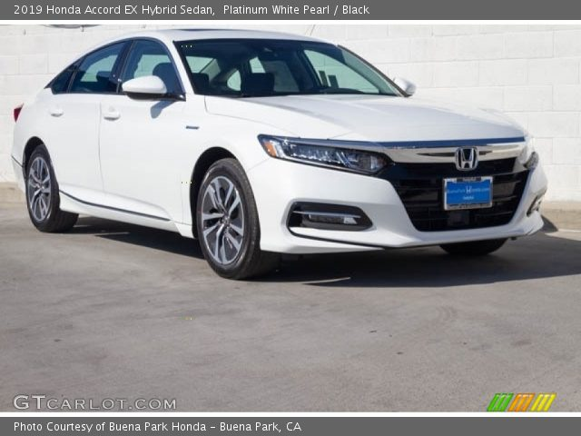2019 Honda Accord EX Hybrid Sedan in Platinum White Pearl