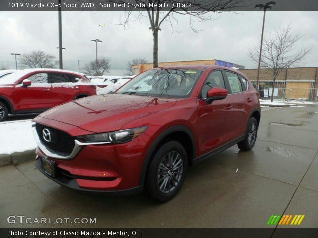 2019 Mazda CX-5 Sport AWD in Soul Red Crystal Metallic