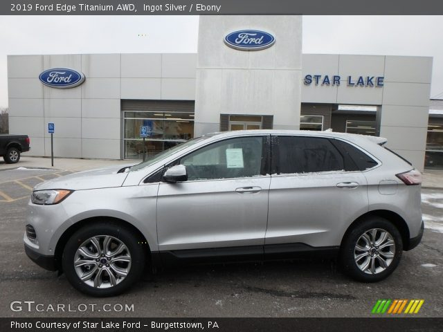 2019 Ford Edge Titanium AWD in Ingot Silver