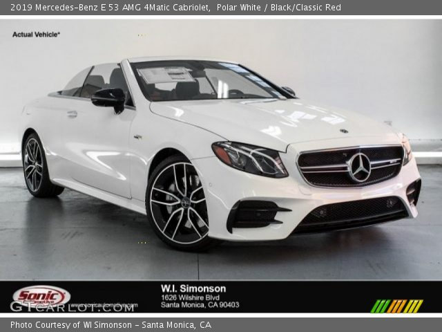 2019 Mercedes-Benz E 53 AMG 4Matic Cabriolet in Polar White