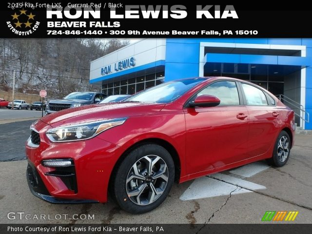 2019 Kia Forte LXS in Currant Red