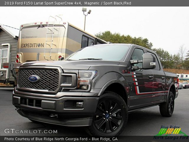 2019 Ford F150 Lariat Sport SuperCrew 4x4 in Magnetic