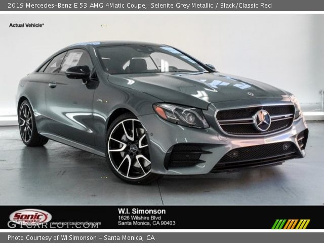 2019 Mercedes-Benz E 53 AMG 4Matic Coupe in Selenite Grey Metallic