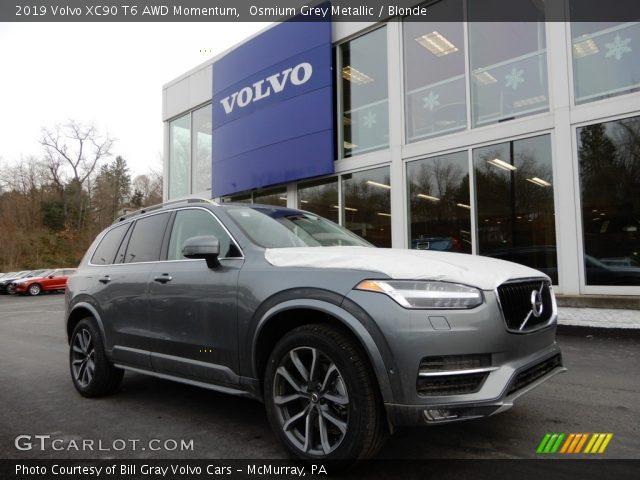 2019 Volvo XC90 T6 AWD Momentum in Osmium Grey Metallic