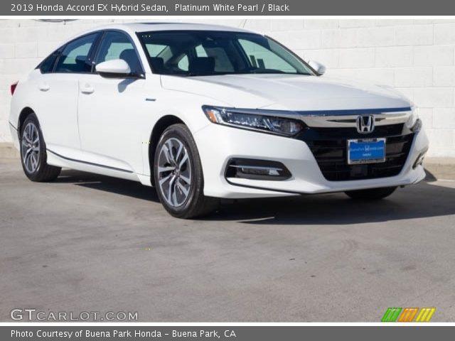 2019 Honda Accord EX Hybrid Sedan in Platinum White Pearl
