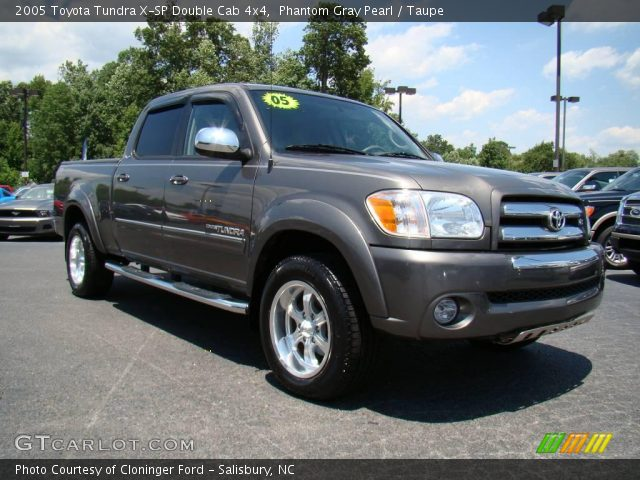 phantom gray pearl 2005 toyota tundra x sp double cab 4x4 taupe interior. Black Bedroom Furniture Sets. Home Design Ideas