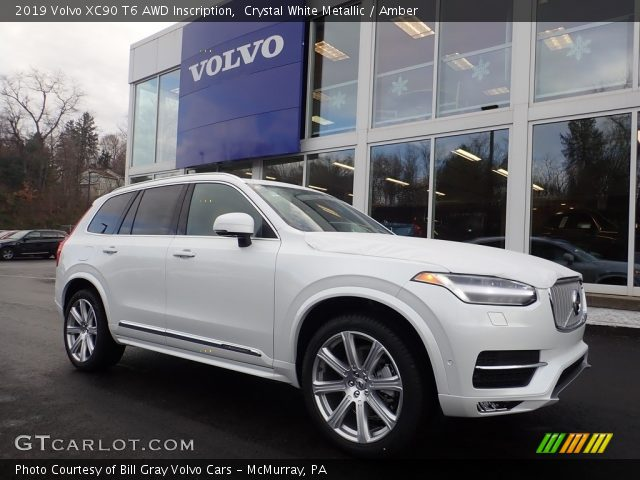2019 Volvo XC90 T6 AWD Inscription in Crystal White Metallic