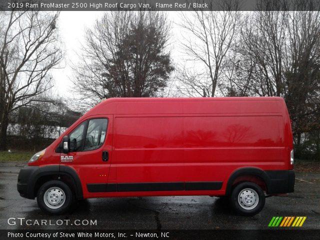 2019 Ram ProMaster 2500 High Roof Cargo Van in Flame Red