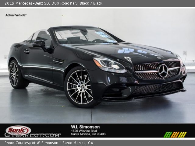 2019 Mercedes-Benz SLC 300 Roadster in Black