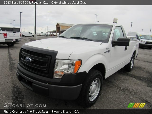 2013 Ford F150 XL Regular Cab in Oxford White