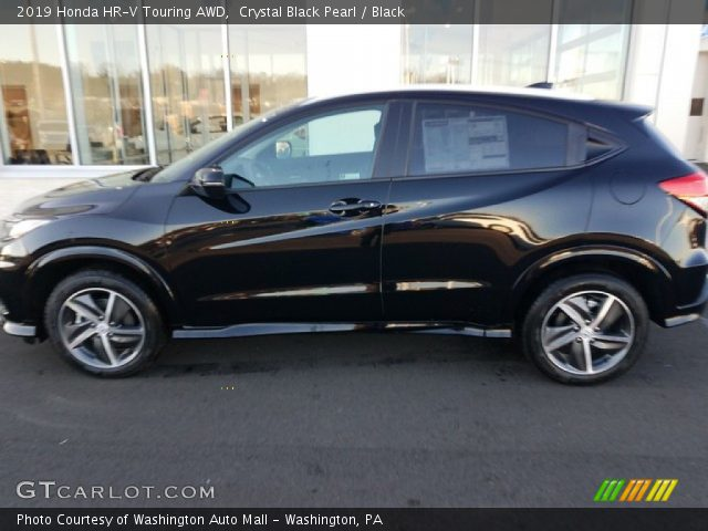 2019 Honda HR-V Touring AWD in Crystal Black Pearl