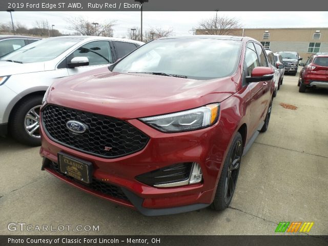 2019 Ford Edge ST AWD in Ruby Red