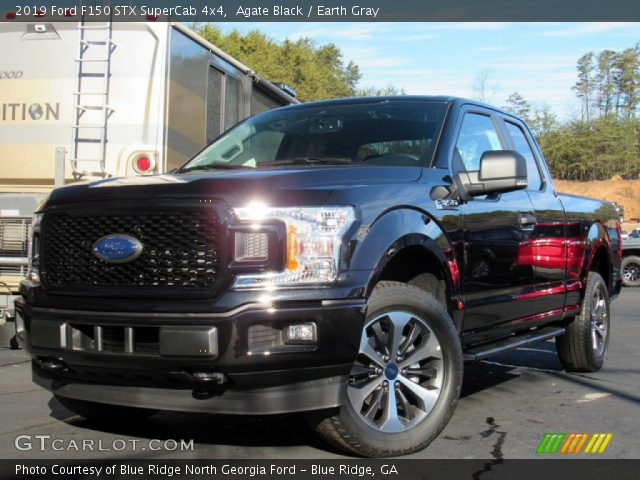 2019 Ford F150 STX SuperCab 4x4 in Agate Black