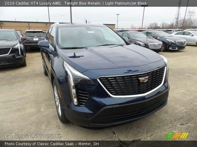 2019 Cadillac XT4 Luxury AWD in Twilight Blue Metallic