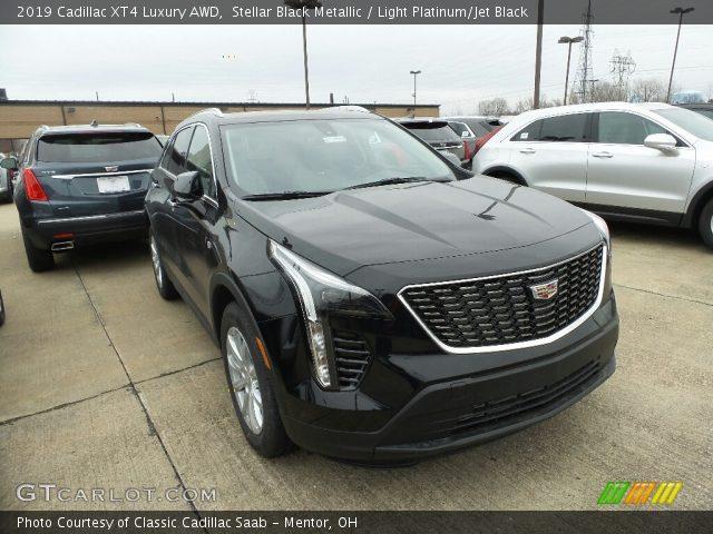 2019 Cadillac XT4 Luxury AWD in Stellar Black Metallic