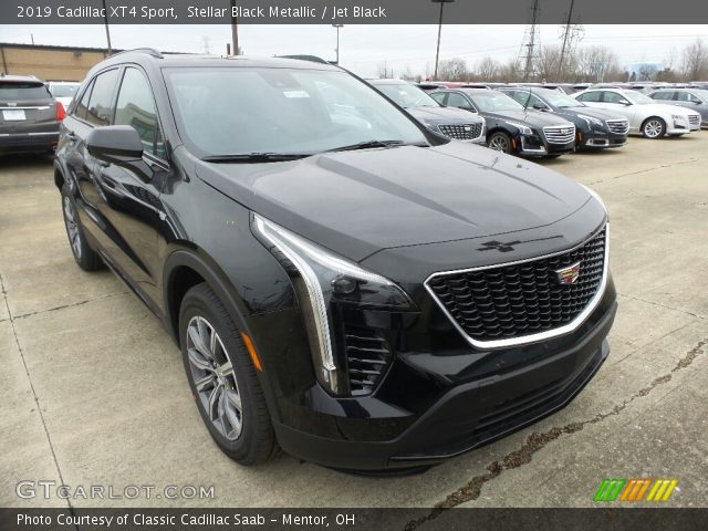 2019 Cadillac XT4 Sport in Stellar Black Metallic
