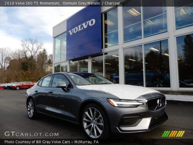 2019 Volvo S60 T5 Momentum in Osmium Grey Metallic