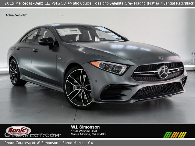 2019 Mercedes-Benz CLS AMG 53 4Matic Coupe in designo Selenite Grey Magno (Matte)