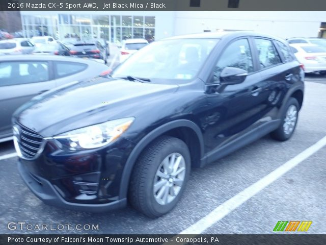 2016 Mazda CX-5 Sport AWD in Jet Black Mica