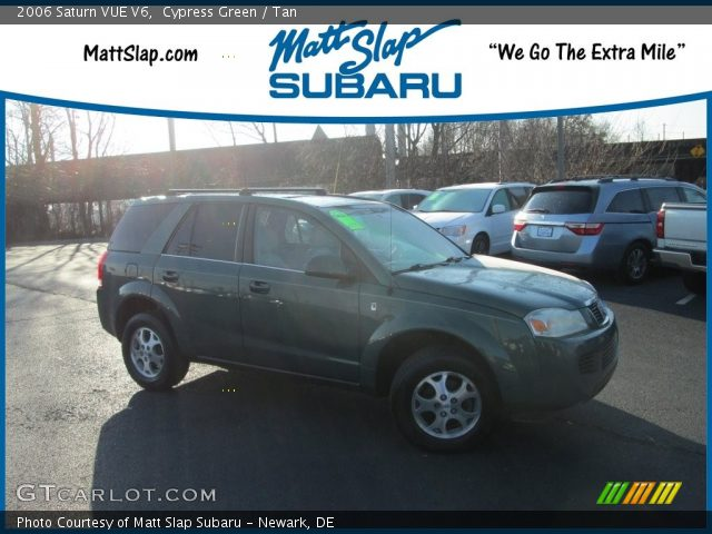 2006 Saturn VUE V6 in Cypress Green