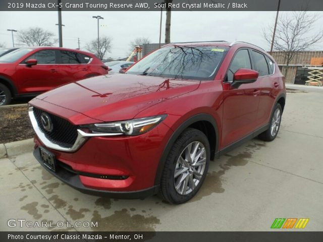 2019 Mazda CX-5 Grand Touring Reserve AWD in Soul Red Crystal Metallic