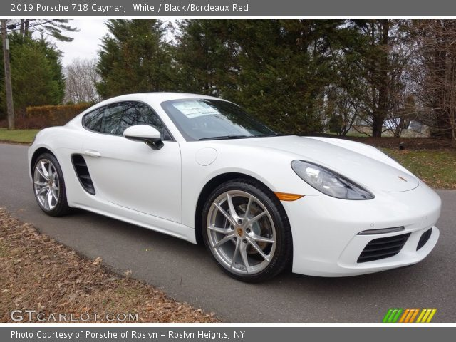 2019 Porsche 718 Cayman  in White