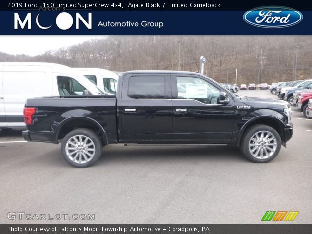 2019 Ford F150 Limited SuperCrew 4x4 in Agate Black