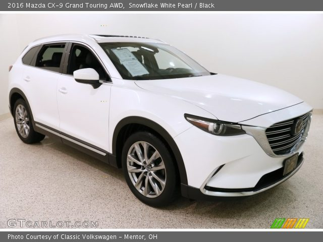 2016 Mazda CX-9 Grand Touring AWD in Snowflake White Pearl