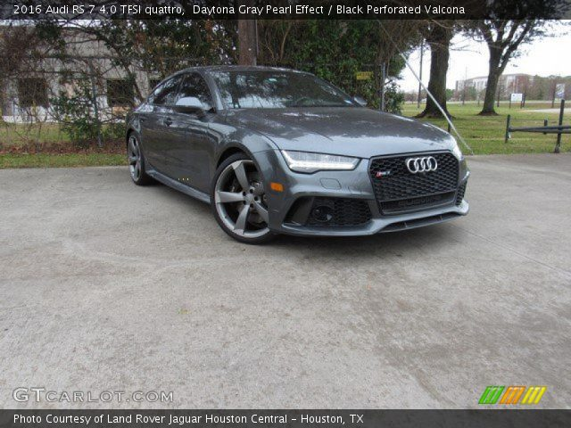2016 Audi RS 7 4.0 TFSI quattro in Daytona Gray Pearl Effect