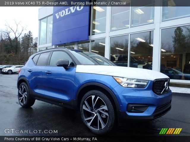 2019 Volvo XC40 T5 R-Design AWD in Bursting Blue Metallic