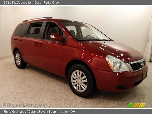 2011 Kia Sedona LX in Claret Red