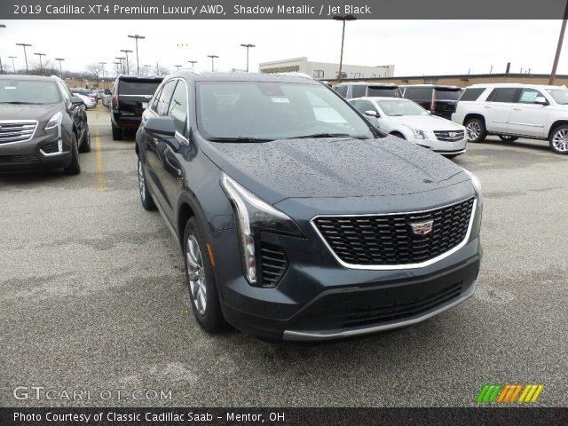 2019 Cadillac XT4 Premium Luxury AWD in Shadow Metallic