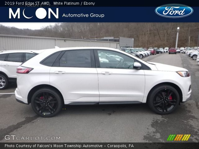 2019 Ford Edge ST AWD in White Platinum