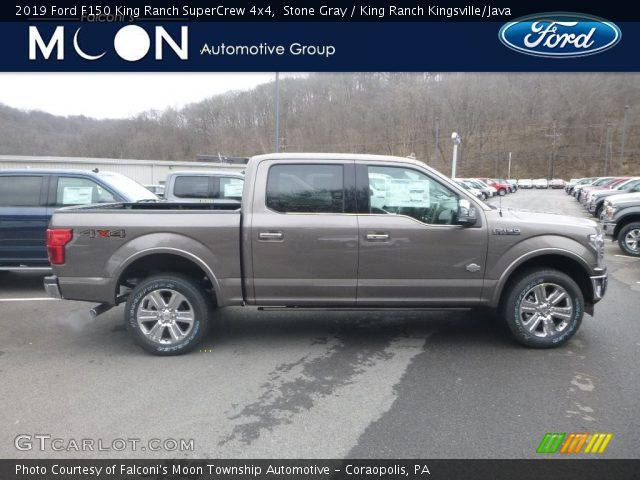 2019 Ford F150 King Ranch SuperCrew 4x4 in Stone Gray