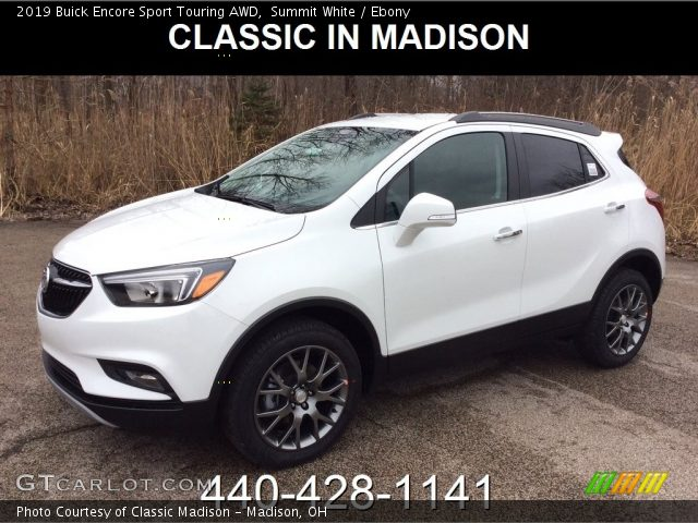 2019 Buick Encore Sport Touring AWD in Summit White