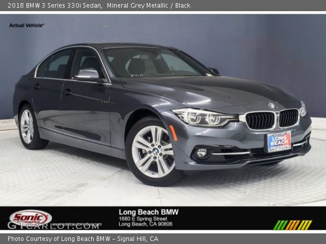 2018 BMW 3 Series 330i Sedan in Mineral Grey Metallic