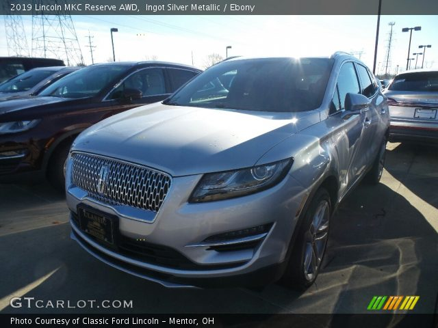 2019 Lincoln MKC Reserve AWD in Ingot Silver Metallic