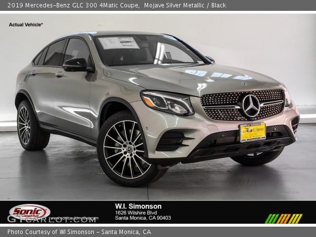 2019 Mercedes-Benz GLC 300 4Matic Coupe in Mojave Silver Metallic