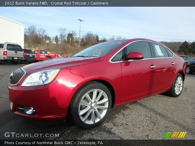 2012 Buick Verano FWD in Crystal Red Tintcoat