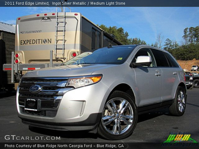 2011 Ford Edge Limited in Ingot Silver Metallic